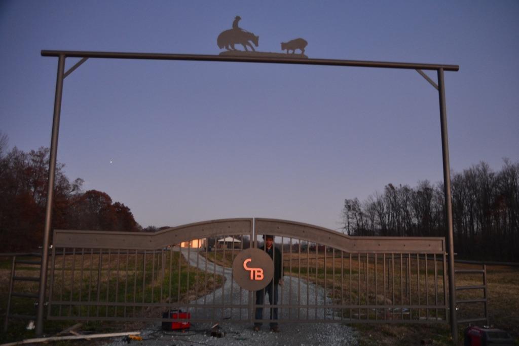Driveway Gates Sale Driveway Gate Cutting Horse