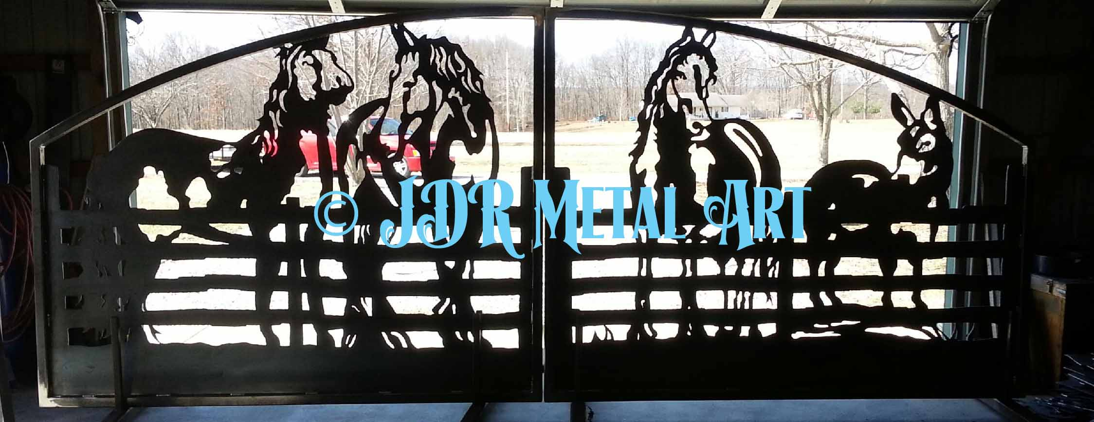 Plasma Cut Gates Archives Custom Driveway Gates By Jdr