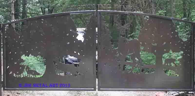 Indiana Driveway Gates