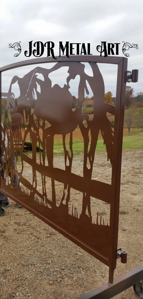 Ranch Gate by JDR Metal Art 2020