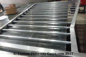 aluminum heavy duty drive gate by jdr metal art june 2017