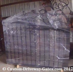 Custom Aluminum Driveway Gates