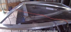 aluminum driveway gates tennessee by jdr metal art