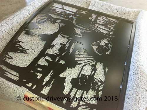 JDR Metal Art Custom Driveway Gate Palm Beach FLorida