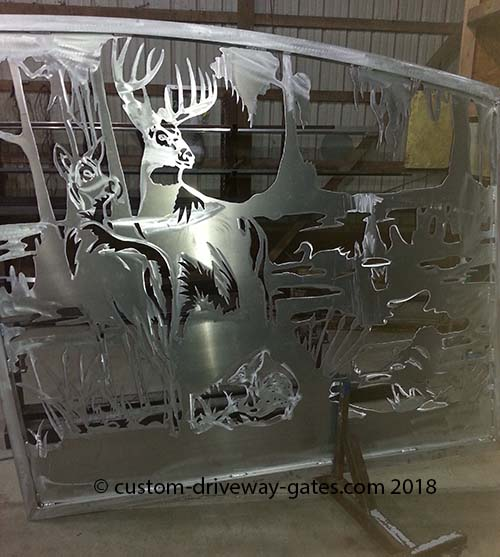 Florida Custom Aluminum Gates
