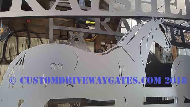 Boca Raton Driveway Gates JDR Metal Art 2018