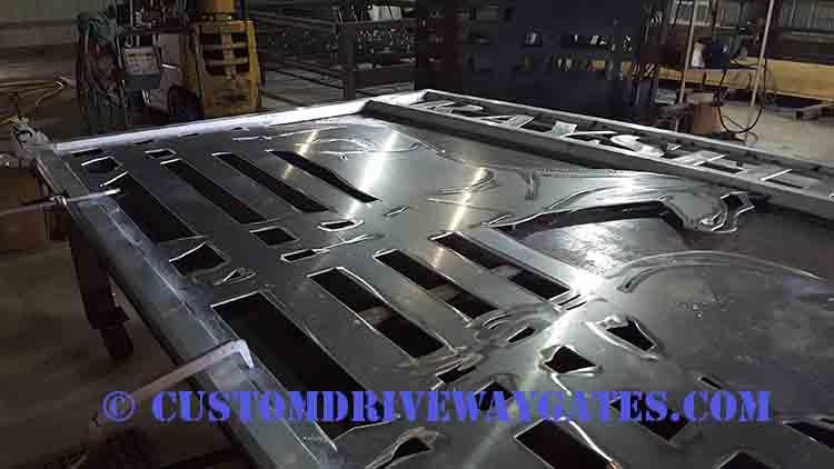 Building a custom aluminum gate