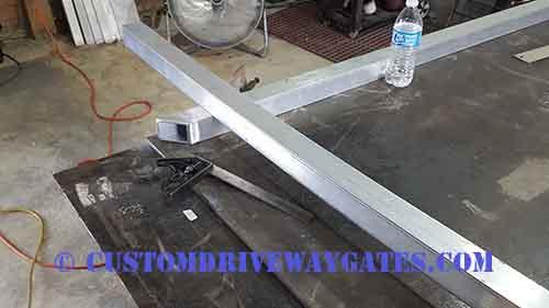 Fitting aluminum gate frame 2 boca raton