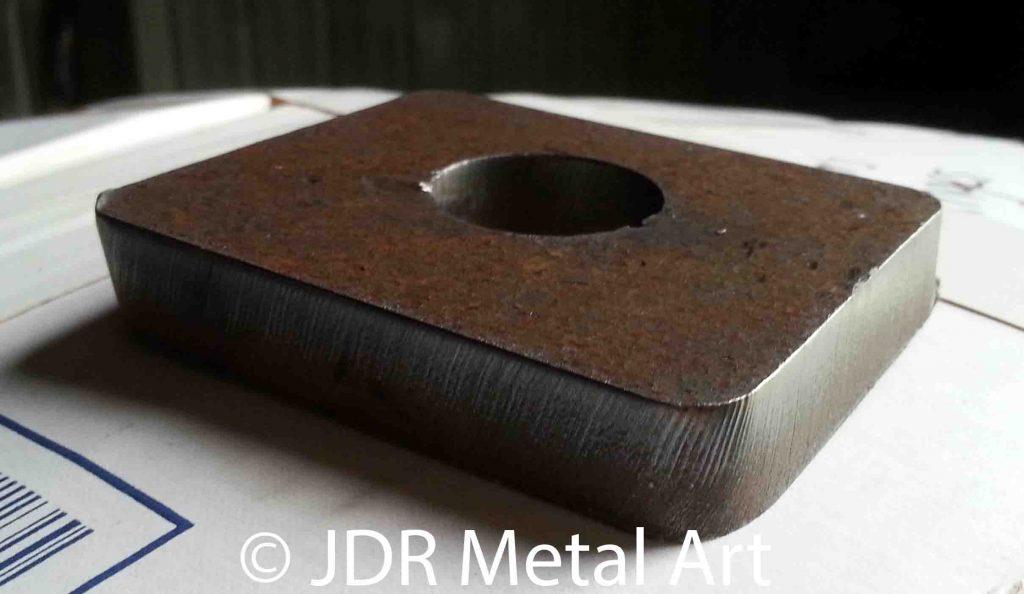 Hinge Plate Bracket for Metal Driveway Gate copy
