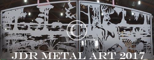 driveway gate design with deer alligators ducks turkey silhouettes by jdr metal art 2017 2