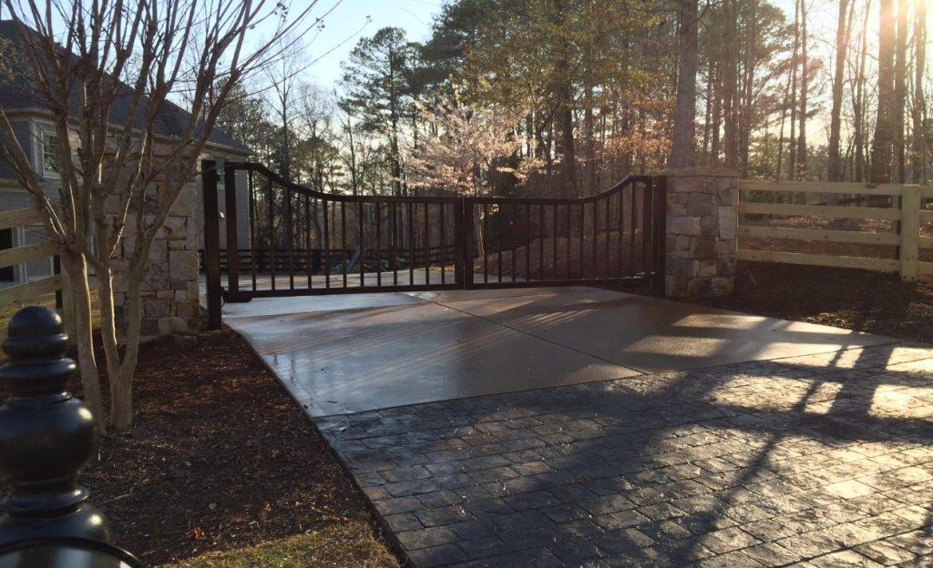 Atlanta driveway gates