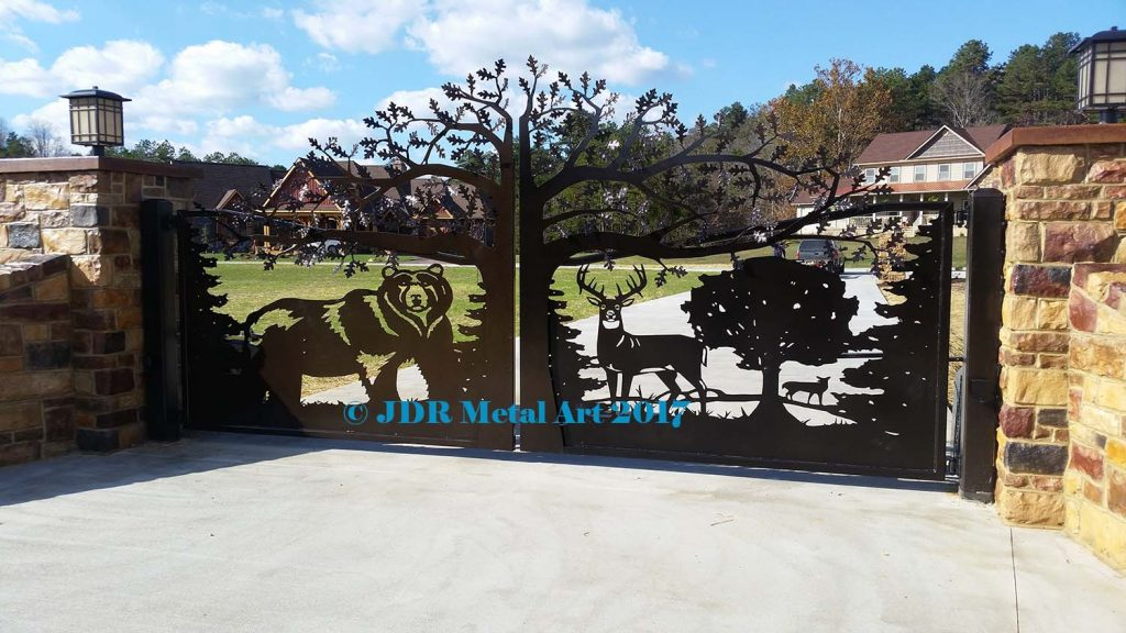 Wildlife Driveway Gates For Farms Ranches Amp Residences