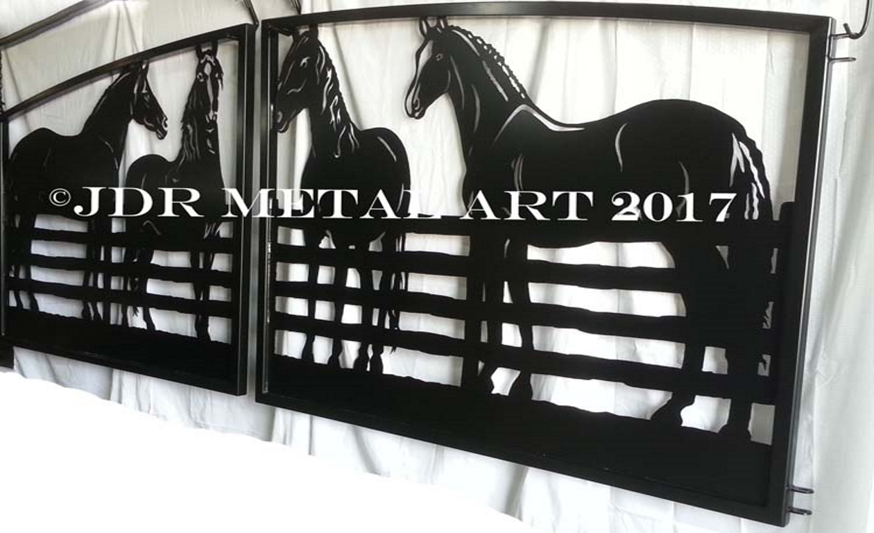 South Bend Indiana Gates by JDR Metal Art 2 unsmushed
