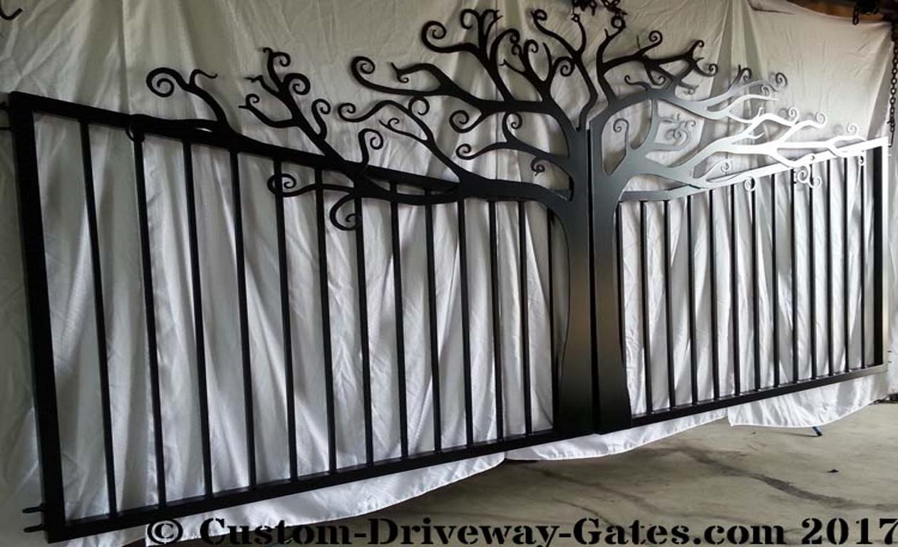 Aluminum driveway gate for sale.