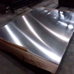 Aluminum sheet for custom farm gate in Ocala, Florida.