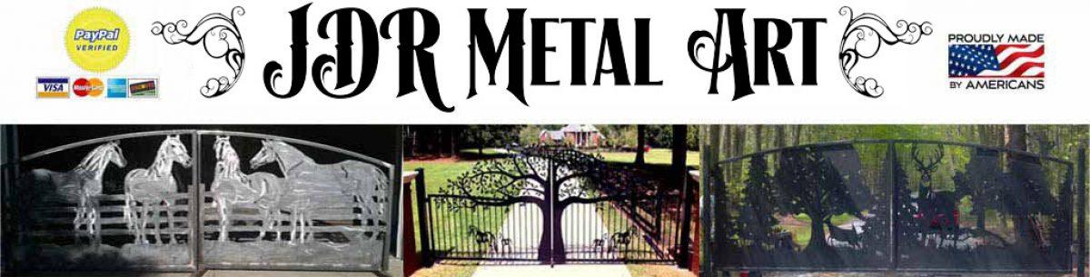 Custom Driveway Gates – Iron Steel & Aluminum – JDR Metal Art – FREE Standard Shipping!