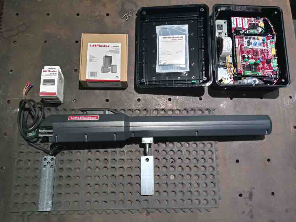 Liftmaster LA 500 arm and control