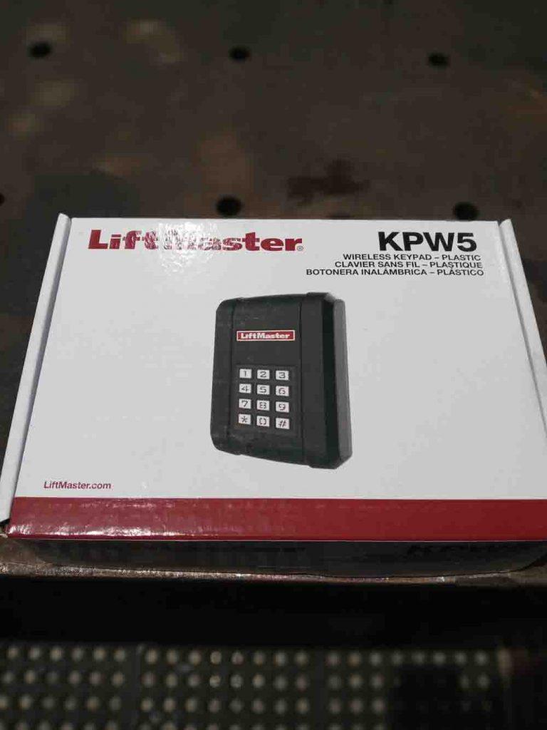 Liftmaster LA 500 driveway gate opener KPW5 Keypad Wireless