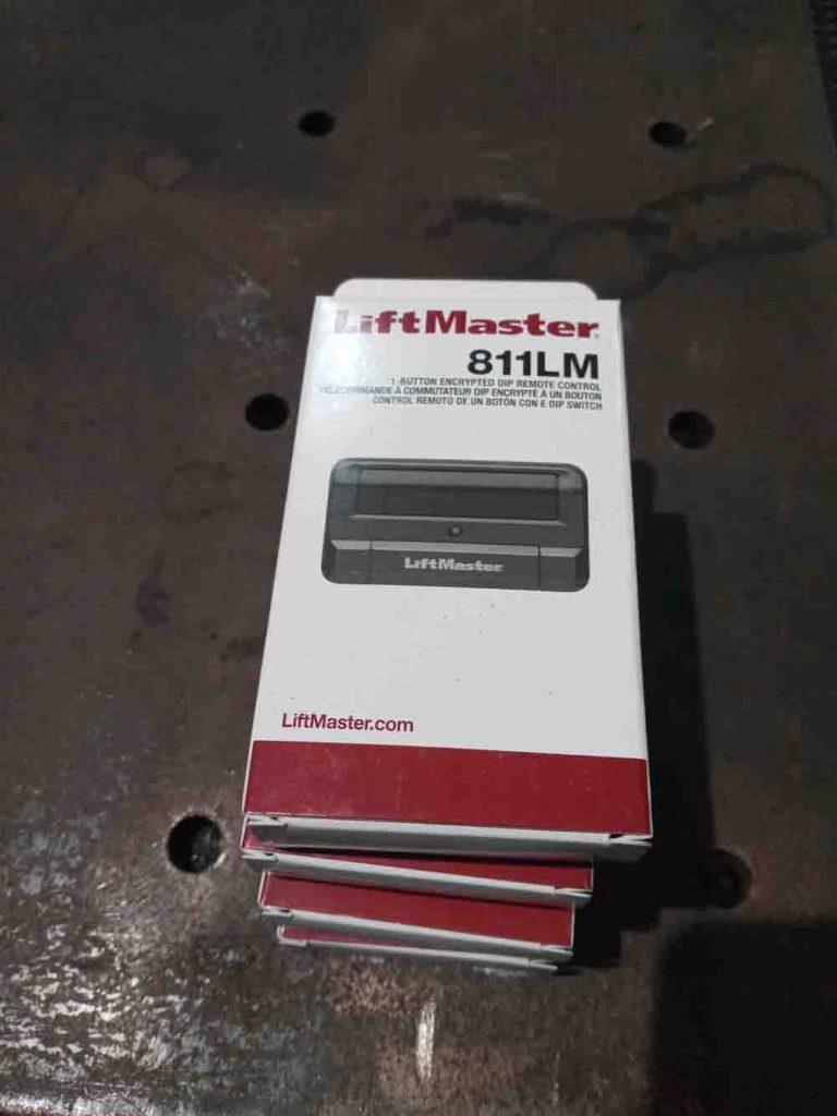 Gate opener remotes