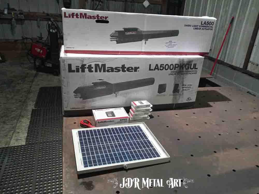 Liftmaster LA 500 gate openers