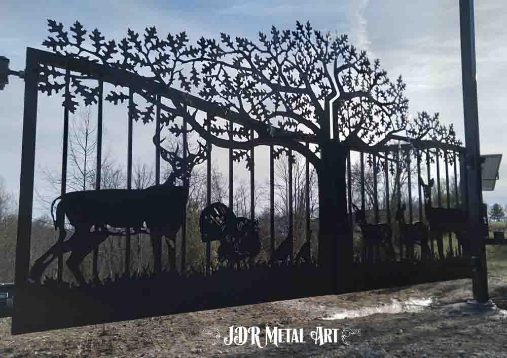 Ranch gates by JDR Metal Art