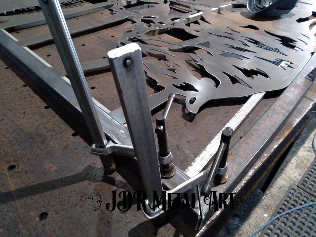 Making double swing driveway gates for denver colorado