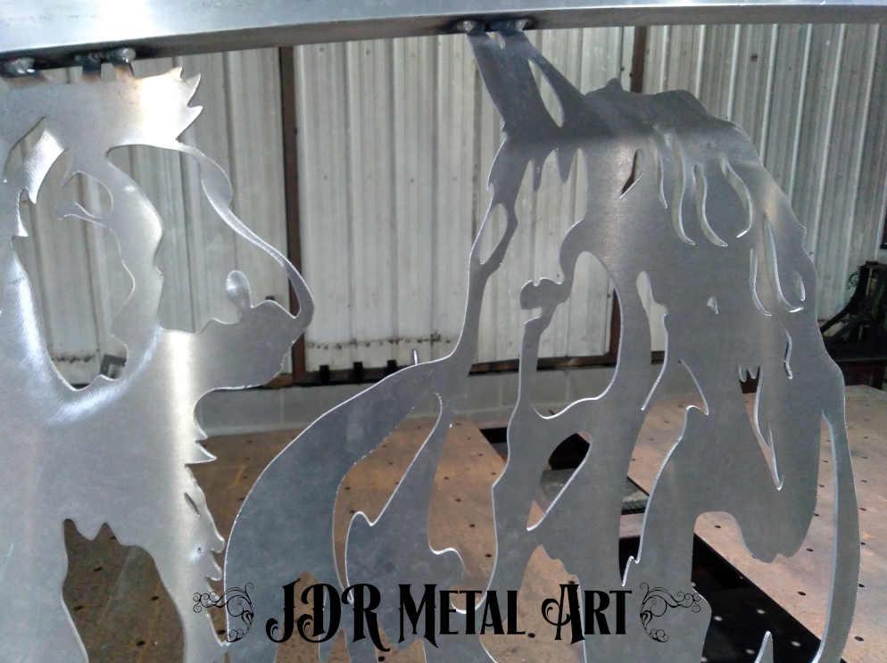 beautiful aluminum horse for sarasota aluminum gate