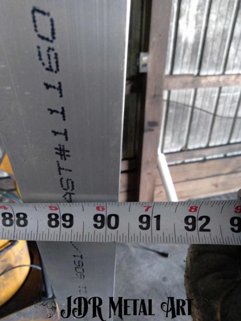 measuring manufactured sarasota driveway gate panel