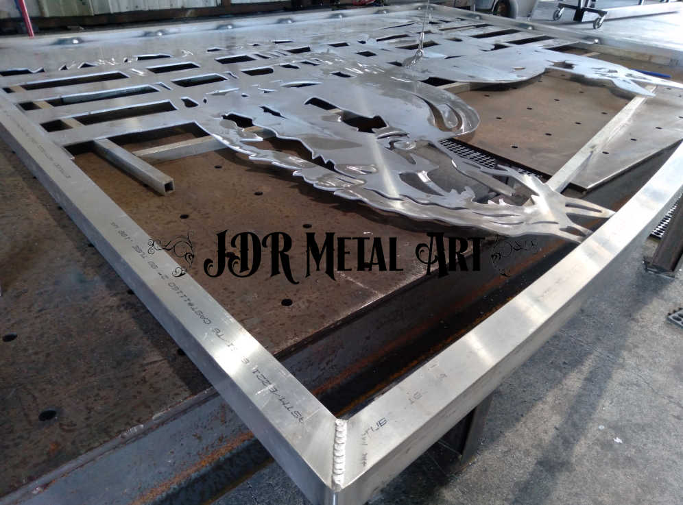 sarasota driveway gate fabrication 2