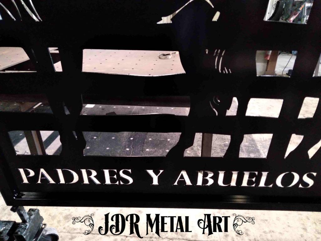 Logo for custom gates